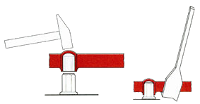 Wheel Nut Retaining Ring Removal Tool